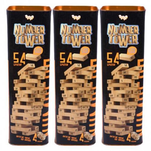 """Розвиваюча настільна гра """"NUMBER TOWER"""" 5+"""