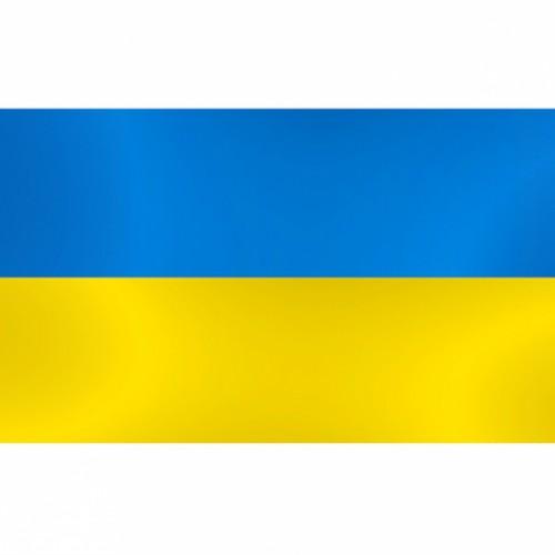 Флаг Украины 90*145см без без штока