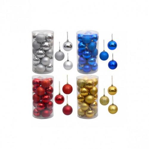 Набор шаров Ø4см (20шт), пластик