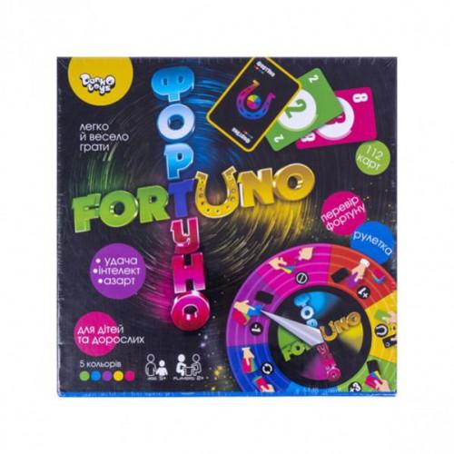 Игра настольная большая «ФортУно» укр 5+