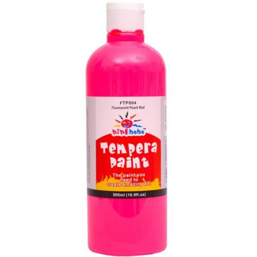 "Краска темперная ""Fluorescent Pink "" 500мл"