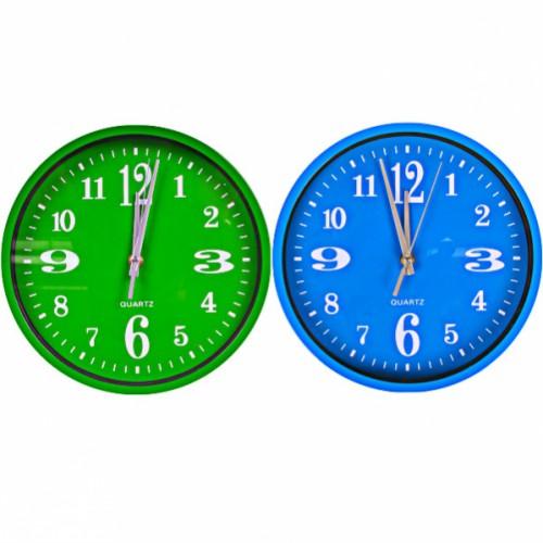 Настенные часы «Круг цветной циферблат» 24,5*4см