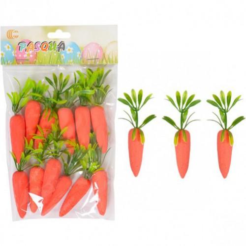 Набор декоративных морковок 12шт
