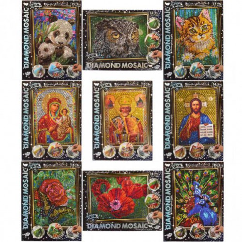 Набор алмазная живопись «Diamond Mosaic» 9+