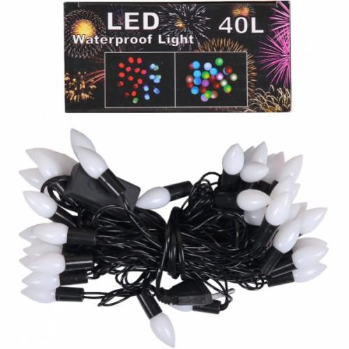 "Гирлянда электрическая LED ""шишки"" 5,8м"