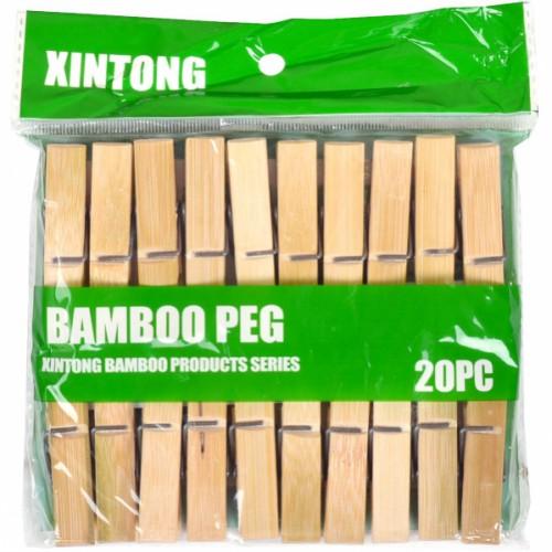 """Прищепки для белья """"Бамбук"""" малые, 6см"""