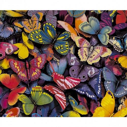 """Алмазная живопись 30*40см """"Бабочки"""" 9+"""