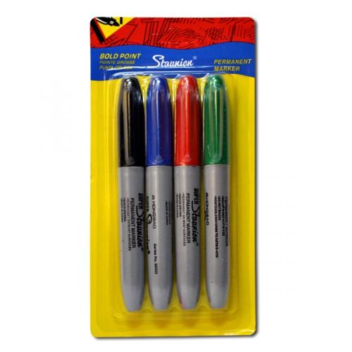 Набор толстых цветных маркеров 4цв