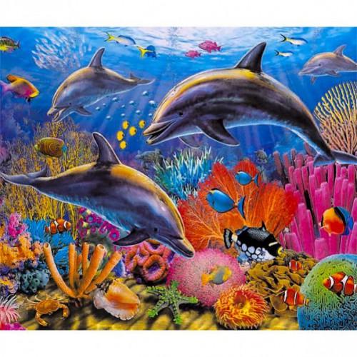 """Картина по номерам """"Под водой"""" 40*50см"""
