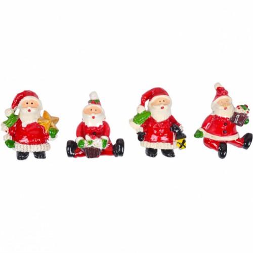 Магнит керамический «Дед Мороз» 5*3,5см