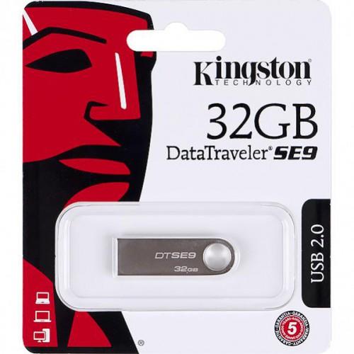 Флешка Kingston USB 32Gb DT SE9 metal