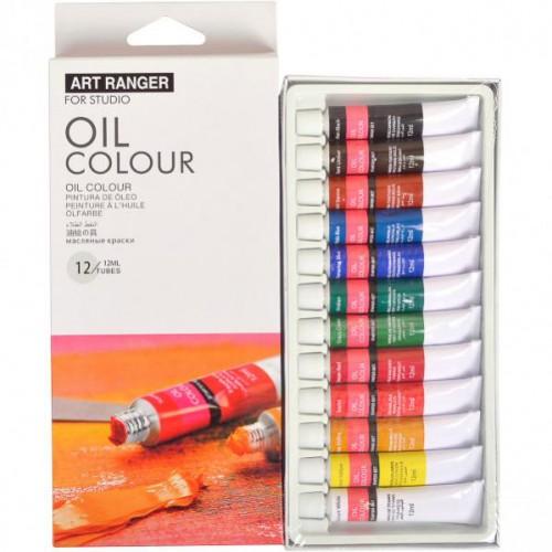 Краски 12цв*12мл «Art Ranger» «Oil»