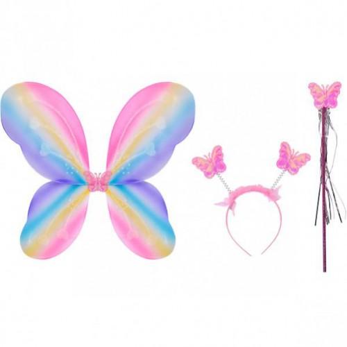 """Набор карнавальный Бабочка"""" 3 предмета, разноцветный"""