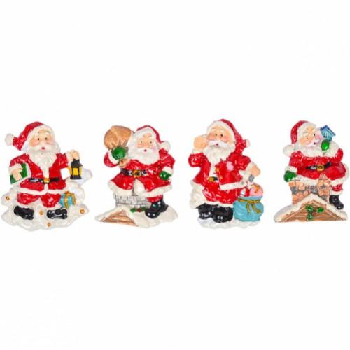 Магнит керамический «Дед Мороз» 7,5*5см