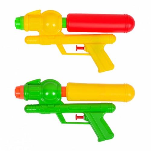 Водяной пистолет помпа 22см в кульке