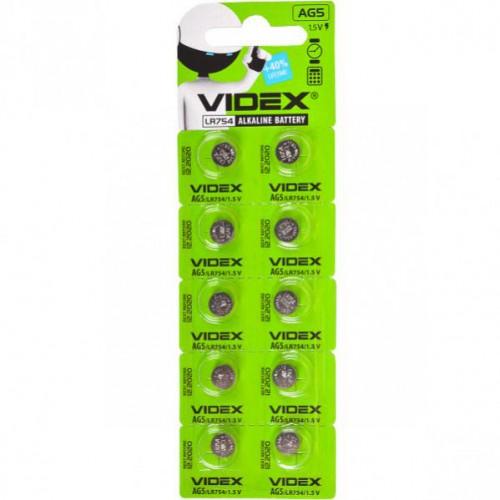 Батарейка Videx «таблетка» AG 5