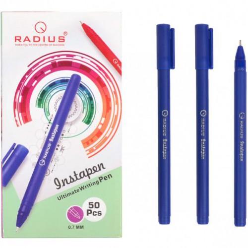 """Ручка шариковая на маслян.основе """"Instapen"""" 0,7мм, синяя RADIUS"""