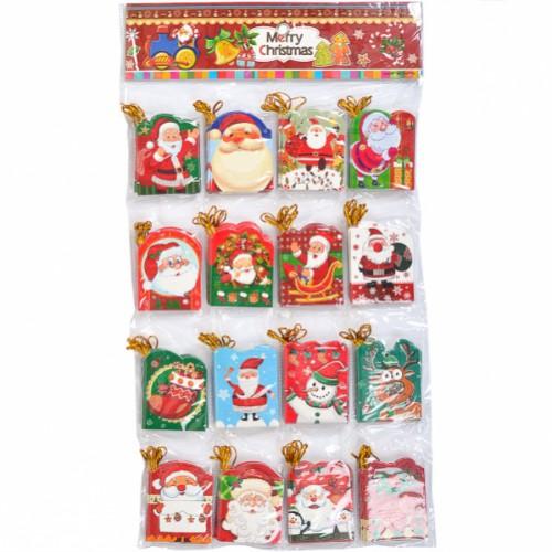 """Письмо-открытка для """"Деда Мороза"""" 5,4*6,8см"""