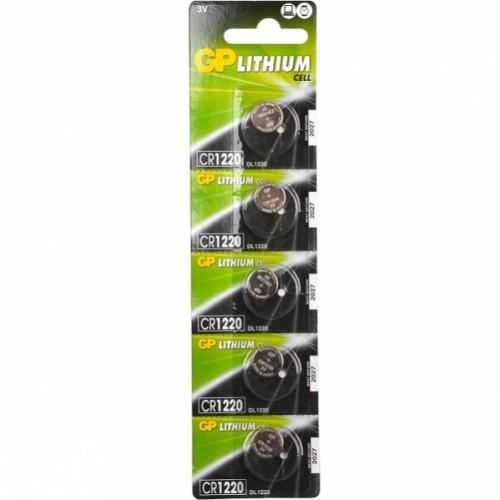 "1220 Батарейки GP ""таблетка"" lithium, 3V"