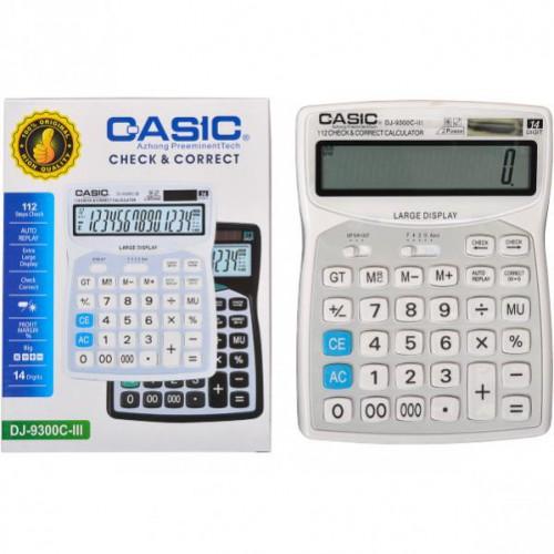 Калькулятор настольный 20*15*4см (14 функций/ 2 источника энергии)