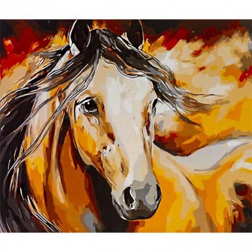 "Картина по номерам ""Лошадь"" 40*50см"