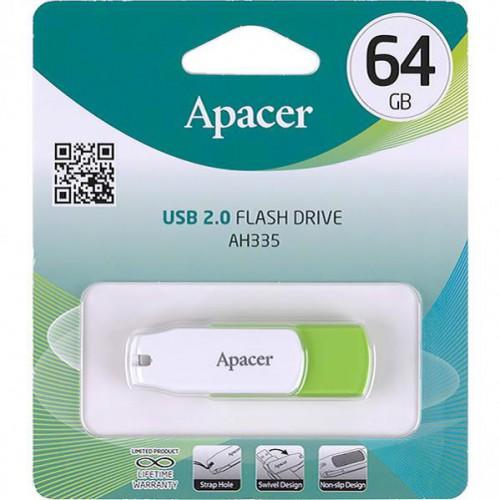 Флешка Apacer USB 64Gb AH335 Green
