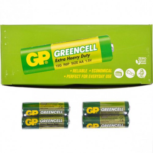 Батарейки GP 15G-S2 солевая R6, AA