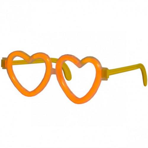 """Неоновые очки """"Сердце"""""""