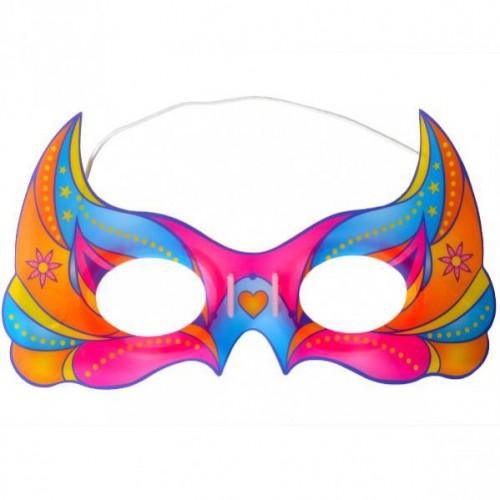 Неоновая маска 13*28см
