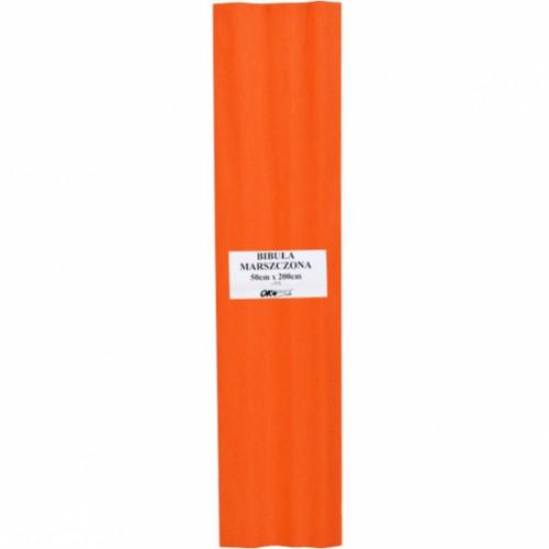 "Гофрированная бумага 50*200см, оранжевая, 32г/м² ""Ok office"""