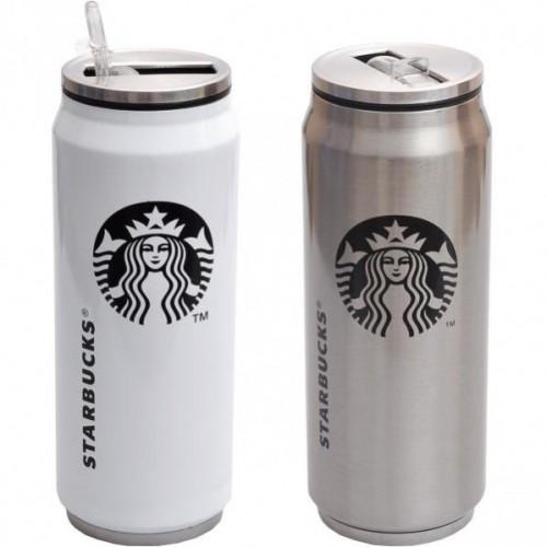 Термокружка Starbucks 500мл (крышка металл), 18,5*7см