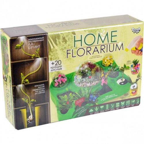 """Набір для вирощування рослин """"HOME FLORARIUM"""" 5+"""