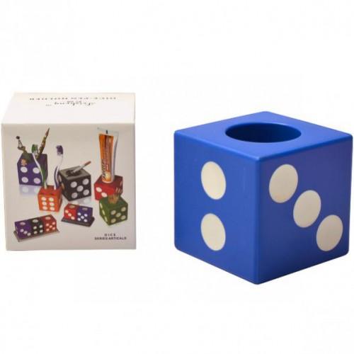 """Стакан для ручек пластиковый """"Кубик"""""""