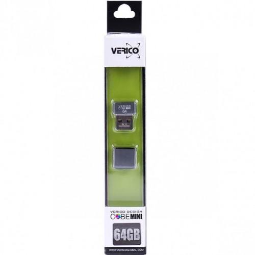 Флешка Verico USB 64Gb MiniCube Gray