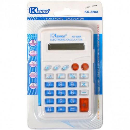 Калькулятор 9,5*6,5*1см (8 функций, 1 источник энергии)