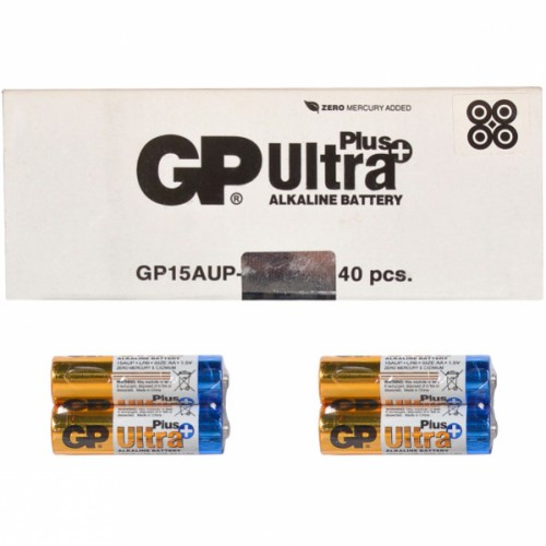 Батарейка GP 15АUP-2S2 AlkalineUltra Plus 1,5V