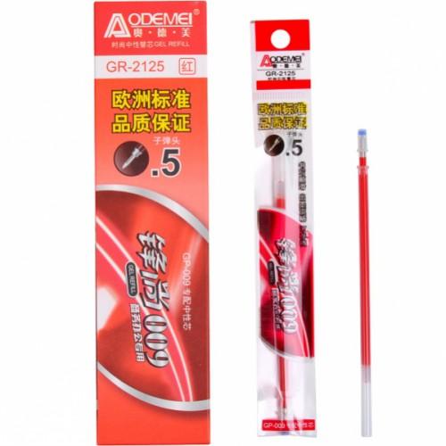 Стержень гелевый 0,5мм, красный (для ручки GP-009)