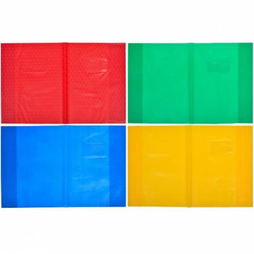 """Обложка для дневника """"А5"""" 35,5*22,8см, цветная однотонная"""