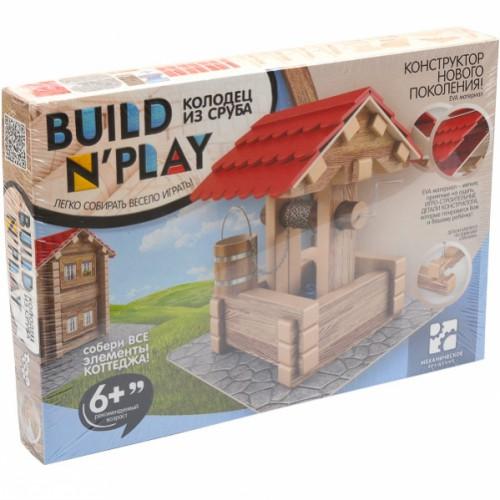 Конструктор колодец из сруба «Build'n'Play» 6+