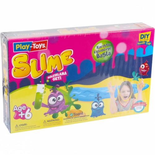 Набор для изготовления лизуна Slime «Play-Toys» 6+