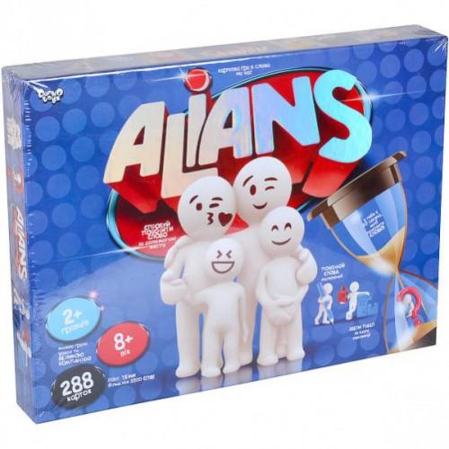 Настільна розважальна гра «ALIANS» 8+