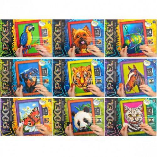 Мозаика-тетрис по цветам «Pixel» 5+