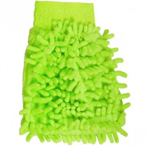 Тряпка-перчатка из микрофибры 14*17см
