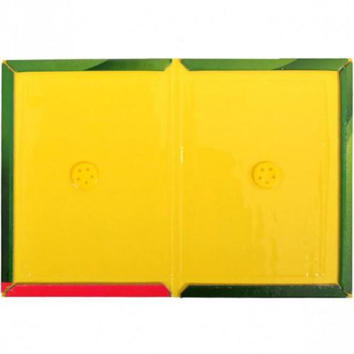 Клеевая ловушка книжка от крыс и мышей малая 25*17см