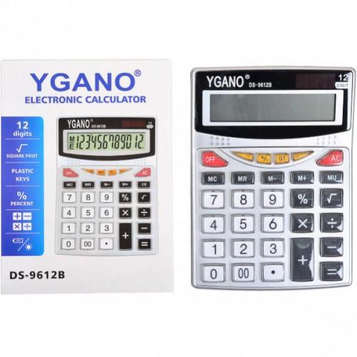 Калькулятор 19*13,5*4см (12 функций, 2 источника энергии)