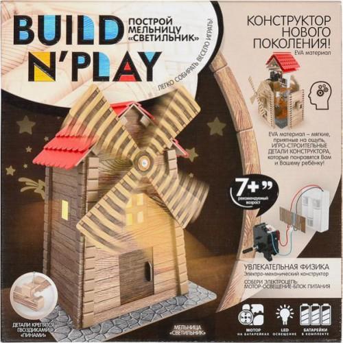 """Конструктор """"Мельница светильник"""" «Build'n'Play» 7+"""