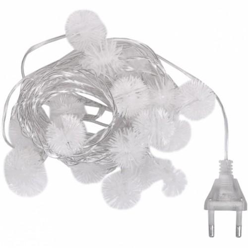 "Гирлянда электрическая LED ""снежинки"" 4,5м"
