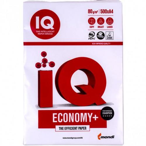 Бумага для ксерокса IQ Economy А4, 500л, 80г/м2