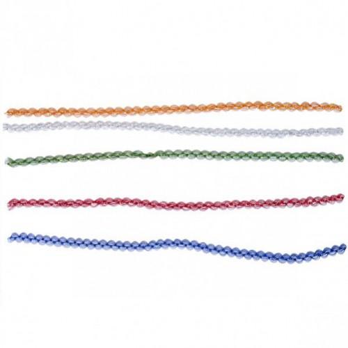 """Мишура """"колосок/змейка"""" Ø 1см, 1,2м (в связке 10шт=одного цвета)"""