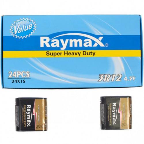 Батарейки RAYMAX, солевые, 3 R12 4.5 V shrink
